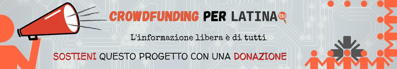 Banner per la campagna di Crowdfunding di Latina Tu