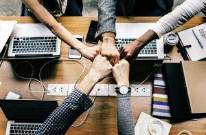 Team di persone che collaborano